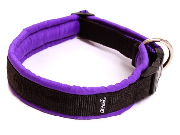 eRPaki Hundehalsband Langhaar 25mm MP